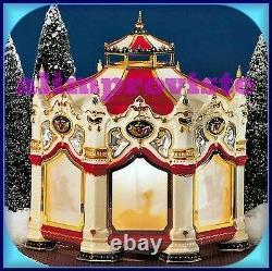 Dept 56 Snow Village 54933 THE CARNIVAL CAROUSEL BOX & SLEEVE NEW Mint FaBuLoUS