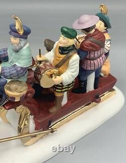 Dept 56 Twelve Days of Dickens Village Twelve Drummers Drumming with Box