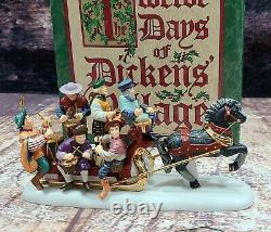 Dept 56 Twelve Days of Dickens Village XII 12 Drummers Drumming 58387 MINT