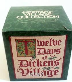 Dept 56 Twelve Days of Dickens Village XII 12 Drummers Drumming Christmas