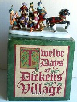 Dept. 56 Twelve Days of Dickens Village XII Twelve Drummers Drumming 58387