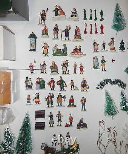 Dept 56 Village Collection, 4 Buildings, 12+ Accessories, 50+ Figures, 80+ Trees