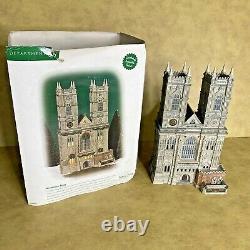 Dept 56 Westminster Abbey Dickens Village Series No Garland Retired 2002