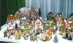 Dept 56 dickens village buildings and accessories collection