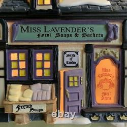 Dept 56 miss lavender's soaps & sachets 4030358 Dickens' Village Series Gift