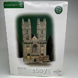 Dickens Village Department 56 Westminster Abbey Retired New In Box Mint Cond