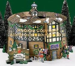 Dickens Village Dept 56 OLD GLOBE THEATER! 58501 NeW! MINT! FabULoUs