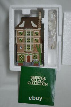 Lot of 4 Dept 56 Heritage Village Collection Dickens Village Series Buildings