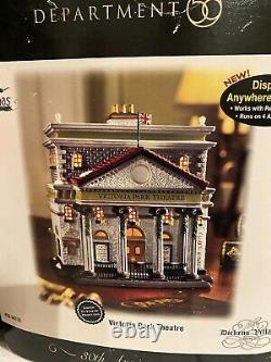 RARE Dept. 56 Dickens' Village Series Victoria Park Theatre 30th Anniversary NIB