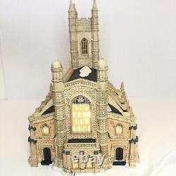 St. Luke's Church Dept. 56 Dickens Village Series 25 anniversary WithLight & Box
