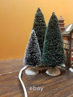 VIDEO! Dept 56 58470 Fezziwig Ballroom Warehouse Christmas Carol Dickens Village