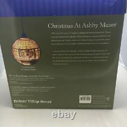 Vintage Department 56 Christmas At Ashby Manor Dickens' Village Series #56.58732