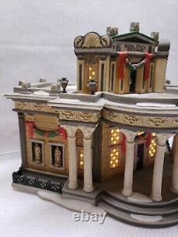 Vintage Rare Department 56 Royal Stock Exchange Porcelain Lighted Building